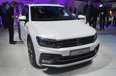 Evolved Hybrid Vehicles - Volkswagen's New Tiguan Vehicle Features Highly Evolved Styling