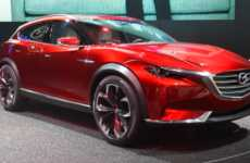 Crossover Concept Cars - The Mazda Koeru Features a Masculine Yet Elegant Appearance