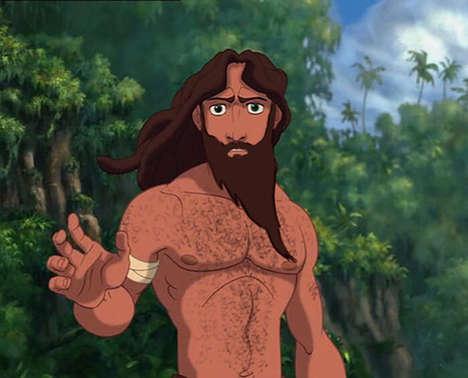 Realistic Male Disney Characters