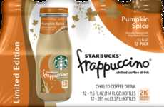 Blended Pumpkin Beverages - This Iconic Fall Drink is Now Available in a Convenient Glass Bottle