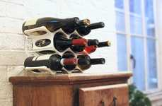 3D-Printed Wine Racks - This Modular Wine Rack Lets You Customize as Your Wine Collection Grows