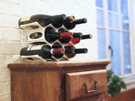 3D-Printed Wine Racks