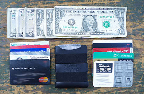 Simplistic All-American Wallets - Thread Honcho's Minimalist Wallet Boasts Practical Style