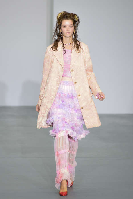 Maximalist Kitschy Couture - The Ryan Lo Spring/Summer Collection Boasts Hyper Eccentric Fashion