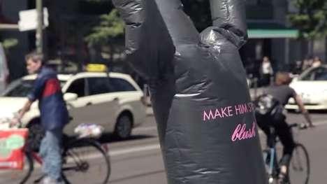 Garbage Bag Publicity Stunts