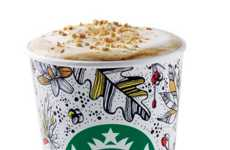 Toasted Graham Lattes - The New Starbucks Hot Drink Flavor is Inspired by Childhood Cereal