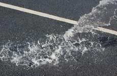 Flood-Preventing Streets - This Porous Concrete Pavement Can Absorb Up to 880 Gallons of Water