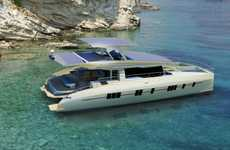 Zero-Emission Solar Yachts - The Solarwave 62 Features a Vast Photovoltaic Array