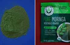 Vegetable Superfood Powders - Moringa is a Raw Plant Source Filled with Calcium, Protein and Iron