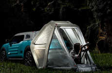 Pop-Up Tent Vehicles