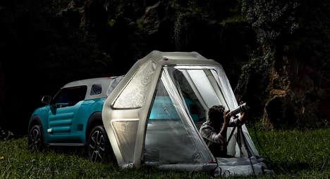 Pop-Up Tent Vehicles