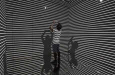 Immersive Light Installations - The 'Infinity Room' is a Stunning Display of Sight and Sound