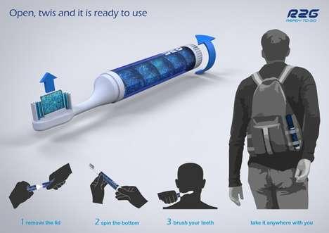 Hybrid Toothbrush Packaging