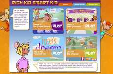 Kid-Friendly Finance Platforms - 'Rich Kid Smart Kid' Teaches Youth About Money Management