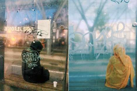 Anonymous Bus Stop Photography