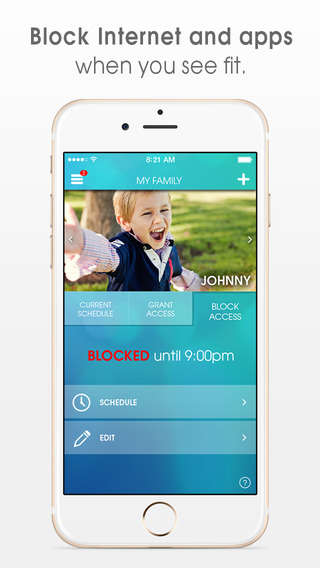 Time-Restricting Apps - OurPact Manages Parental Control Settings Based on a Child's Schedules