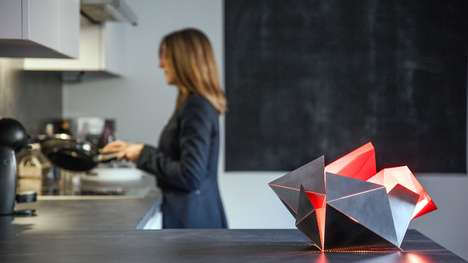 Customizable Origami Lamps