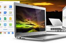 Backlit Keyboard Laptops - The Toshiba Chromebook 2 Features a Handy Backlit Keyboard