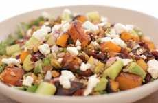 Fall Squash Salads - This Festive Hearty Salad if Filled with Quinoa, Veggies and Dried Fruit