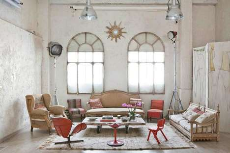 Rustic Whitewashed Lofts