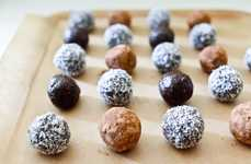 Raw Chocolate Truffles - These Handmade Hazelnut Chocolate Balls are Packed with Nutritional Foods