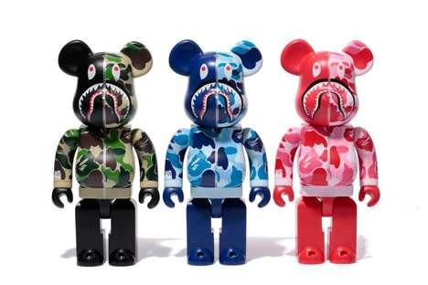 Shark-Faced Bear Toys