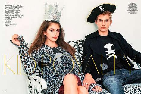 Supermodel Offspring Editorials