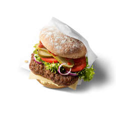 Organic Fast Food Burgers