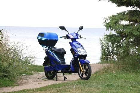 Turbo-Charged Smart Scooters