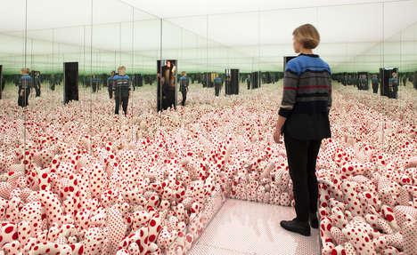 Dot-Themed Art Exhibits