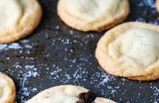 Chocolate Spread-Stuffed Cookies