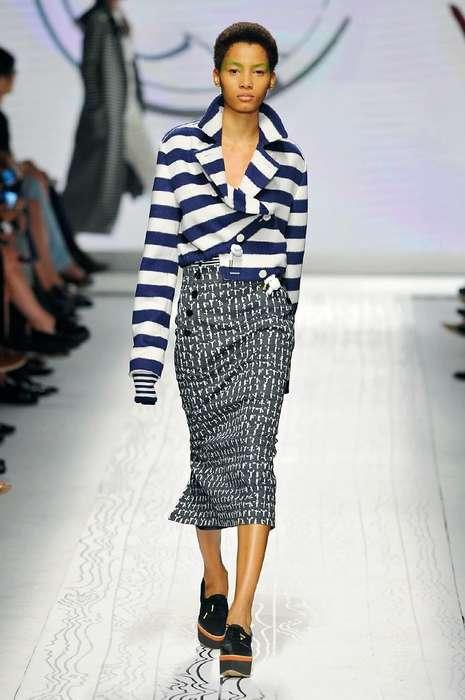 Sleek Nautical Fashion