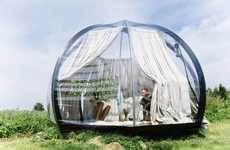 Transparent Outdoor Domes - The 'Oasis' Dome Can Protect You from Inclement Weather