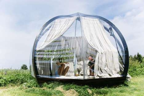 Transparent Outdoor Domes