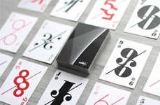 Ultra-Modern Playing Cards - These Playing Cards Have a Contemporary Aesthetic