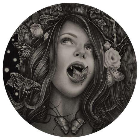 Graphite Vampire Portraits