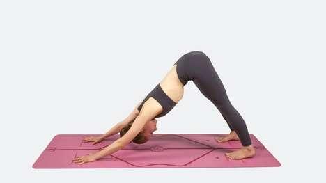 Alignment-Aiding Yoga Mats