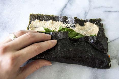 Seaweed Veggie Wraps