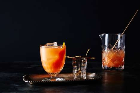 Breakfast Citrus Cocktails