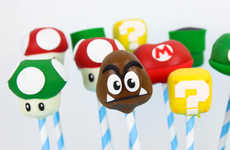 Gamer Cake Pops - This Mario and Luigi Dessert Pops Celebrate the Popular Nintendo Characters
