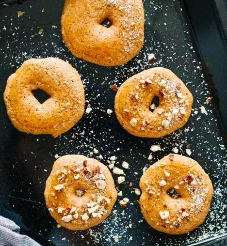 Pureed Pumpkin Donuts