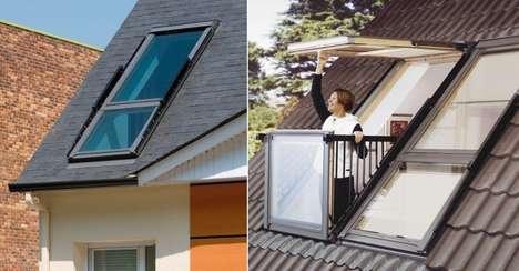 Balcony Skylight Hybrids