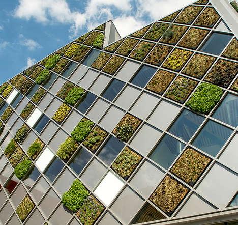Tiled Grass Buildings