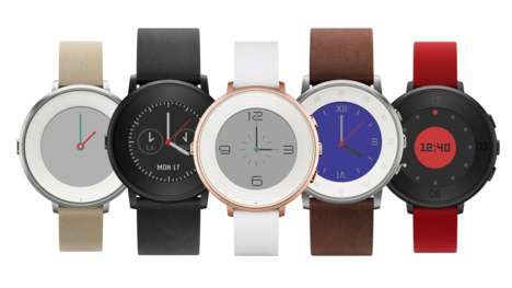 Organically-Shaped Smartwatches