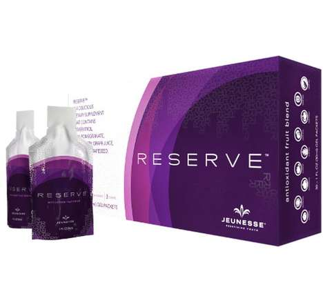 Rejuvenating Skin Supplements - Jeunesse's Reserve Pack is Made from Organic Grape Skin