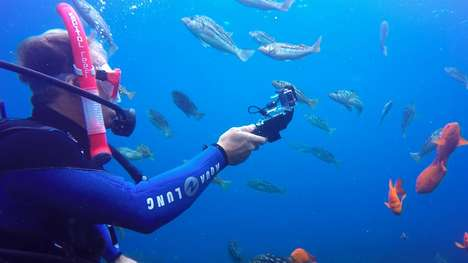 Underwater Charging Selfie Sticks