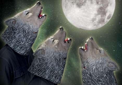 Howling Wolf Masks