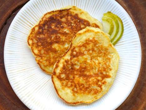 Boozy Pear Pancakes