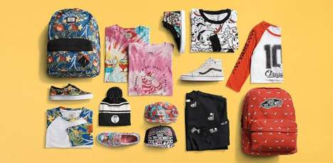 Skater Disney Clothing - Vans Teams Up with Disney to Create a Young at Heart Apparel Collection