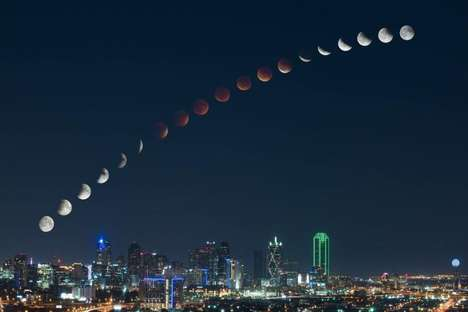 Time Lapse Lunar Photography